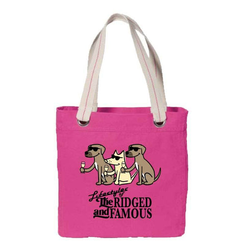 Lifestyles Of The Ridged And Famous - Canvas Tote