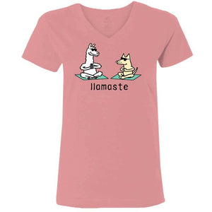 Llamaste - Ladies T-Shirt V-Neck