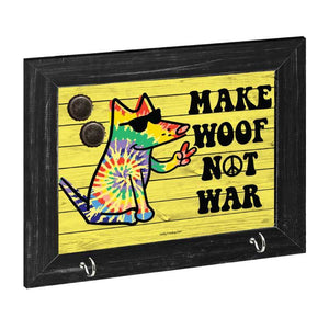 Make Woof, Not War - Magnetic Board