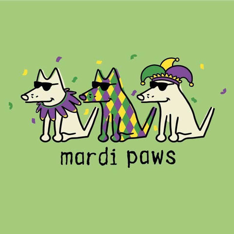 Mardi Paws - Ladies Night T-Shirt