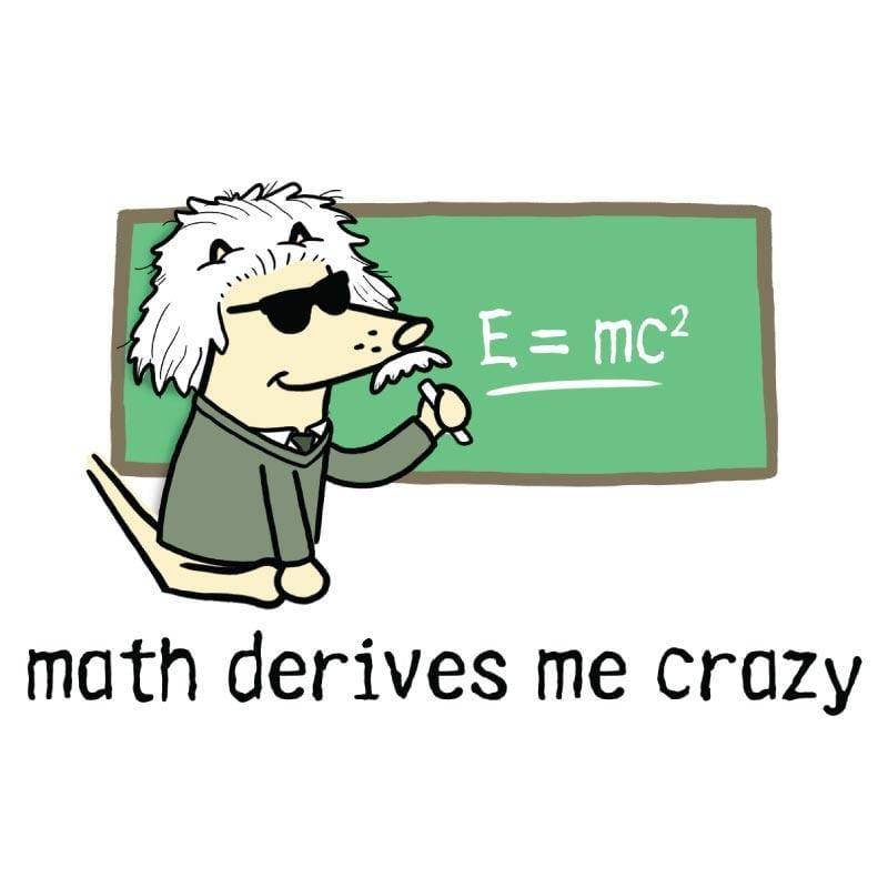Math Derives Me Crazy - Coffee Mug