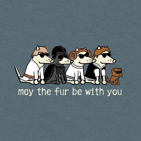 May The Fur Be With You Lightweight Tee