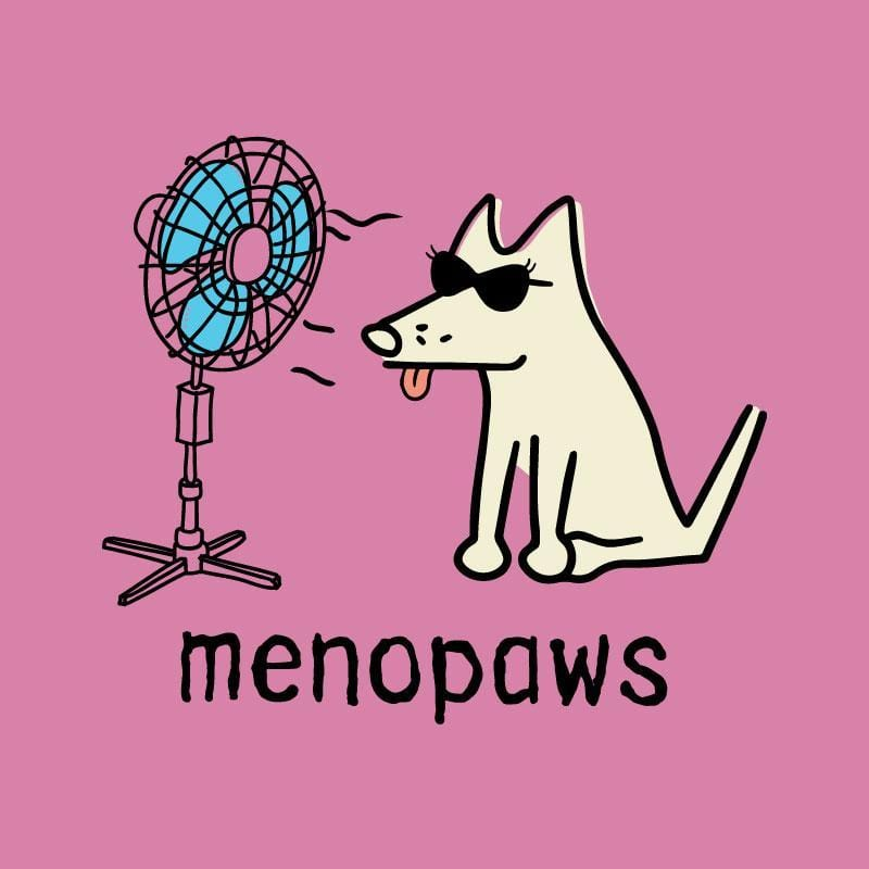Menopaws - Ladies T-Shirt V-Neck