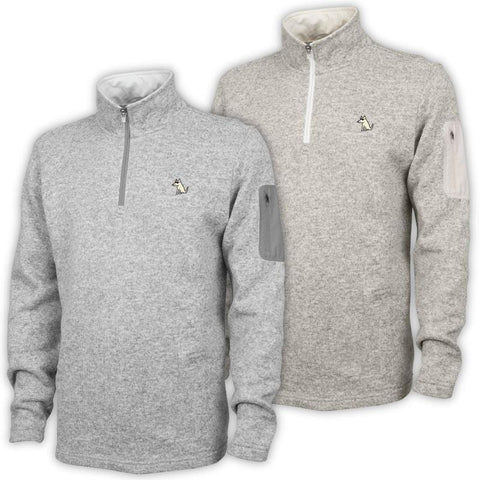 Teddy's Fleece Quarter Zip Pullover
