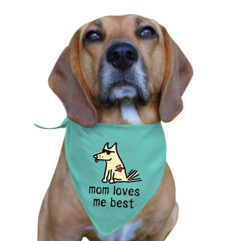 Mom Loves Me Best - Doggie Bandana