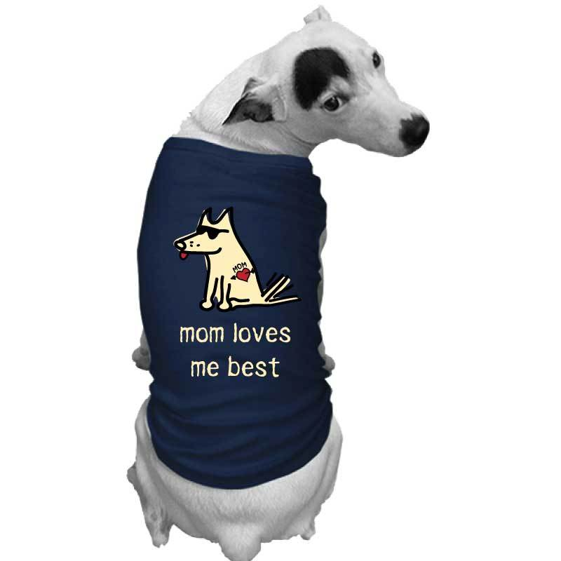 Mom Loves Me Best - Doggie Tee