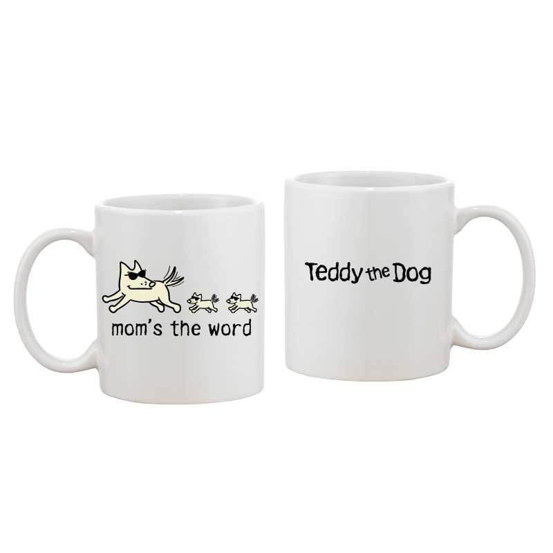 Mom's the Word - Coffee Mug