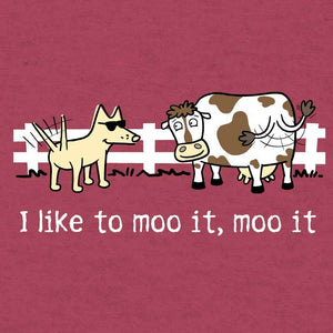 I Like To Moo It, Moo It  - Lightweight Tee