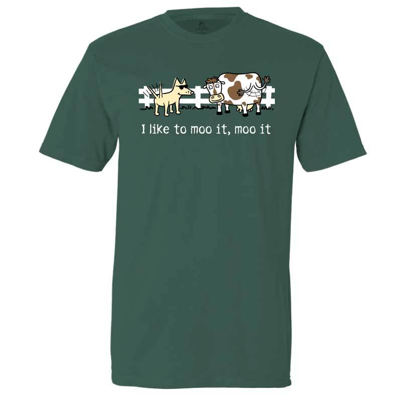 I Like To Moo It, Moo It - Classic Tee