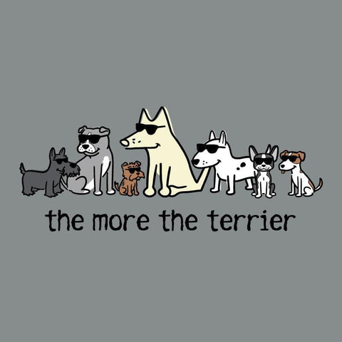 The More The Terrier - Sweatshirt Pullover Hoodie