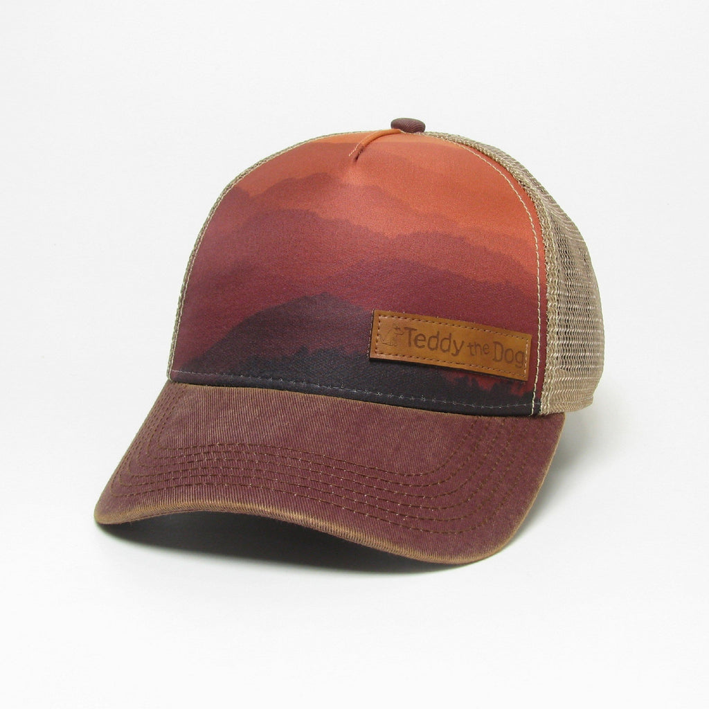 Teddy's Mountain Sunset - Trucker Hat