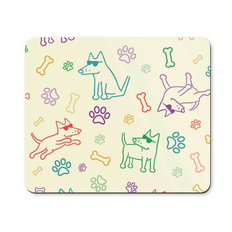 It's a Dog's Life - Mouse Pad
