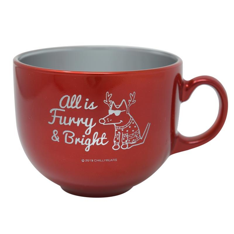 All Is Furry And Bright - Stainless Steel Mug