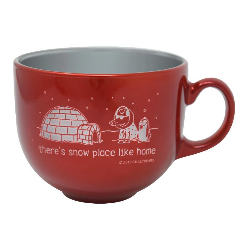 There's Snow Place Like Home - Stainless Steel Mug