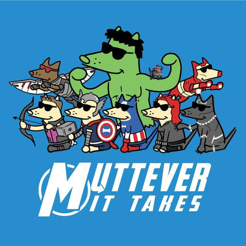 Muttever It Takes - Canvas Tote