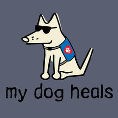 my dog heals classic long sleeve
