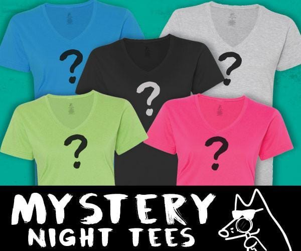 Mystery Teddy - Ladies Night T-Shirt