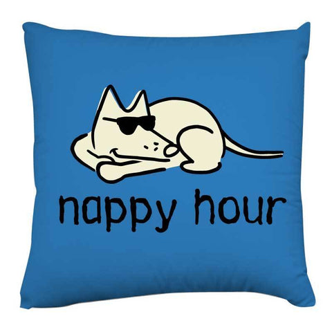 Nappy Hour - Throw Pillow