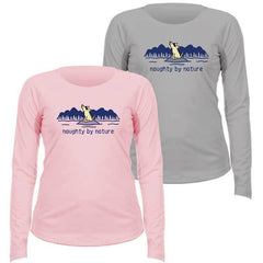 Naughty By Nature - Ladies Long-Sleeve Performance T-Shirt