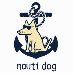 Nauti Dog - Ladies Long-Sleeve Performance T-Shirt