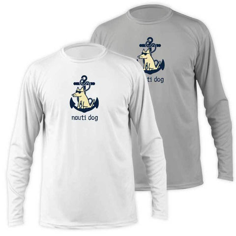Nauti Dog  -  Long-Sleeve Performance T-Shirt