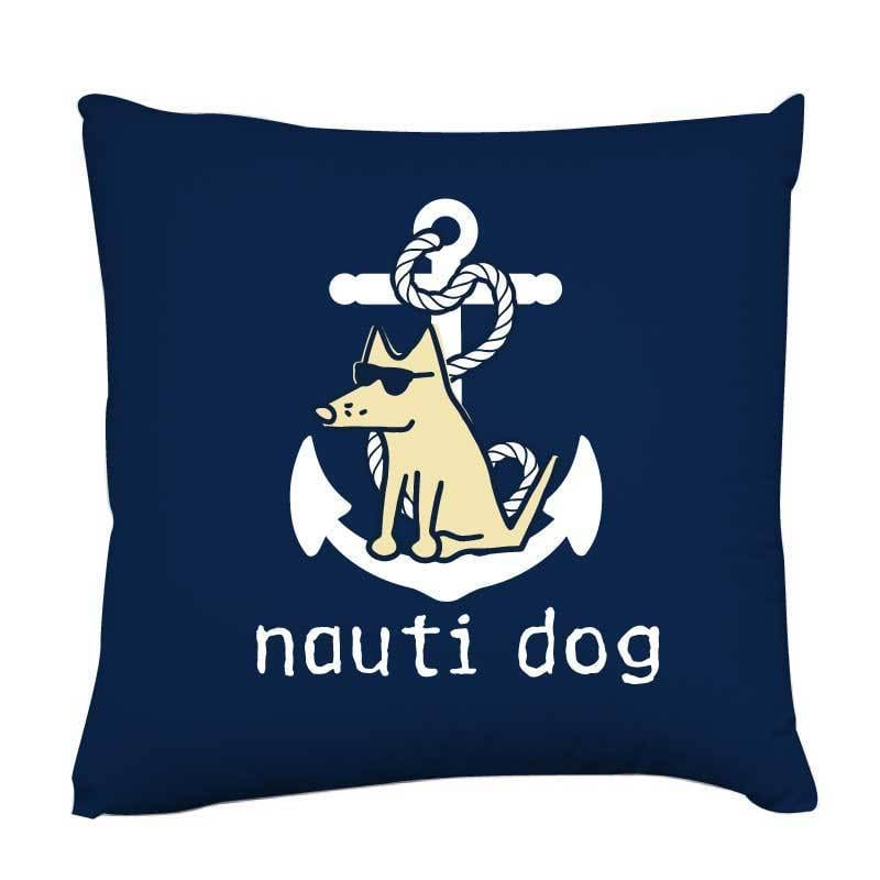 Nauti Dog - Throw Pillow