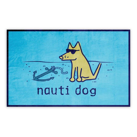 Nauti Dog Beach Towel