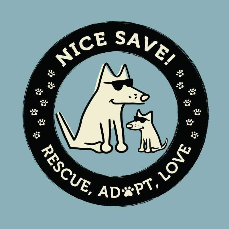 Nice Save! Dog TV - Classic Tee