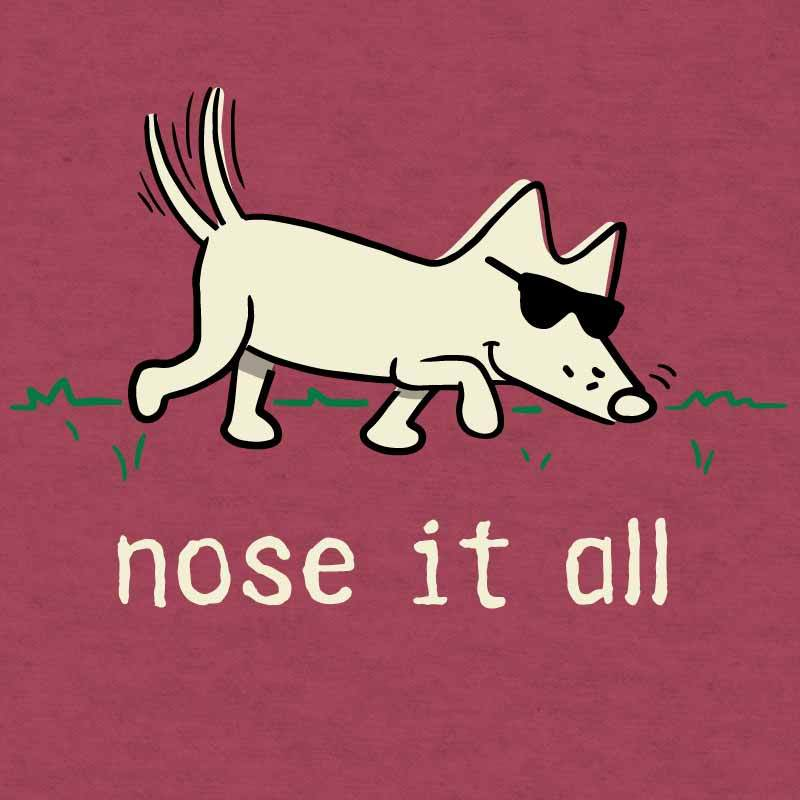 Nose It All - Lightweight Tee