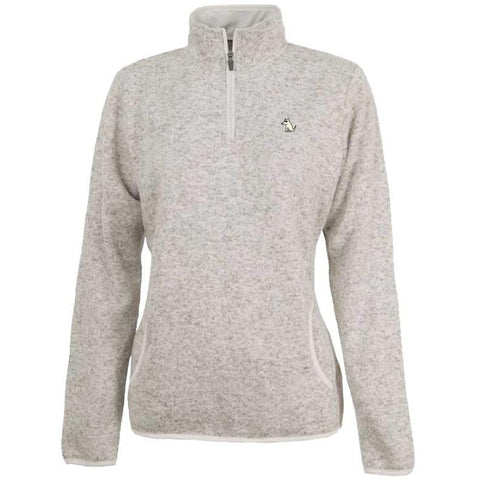 ladies quarter zip pullover