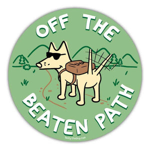 Off The Beaten Path - Car Magnet