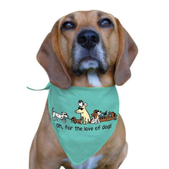 Oh, For The Love Of Dog - Doggie Bandana