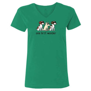 One Brit Wonder - Ladies T-Shirt V-Neck