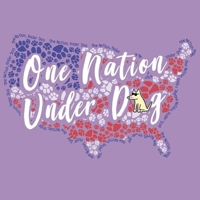 One Nation Under Dog - Ladies Tank Top