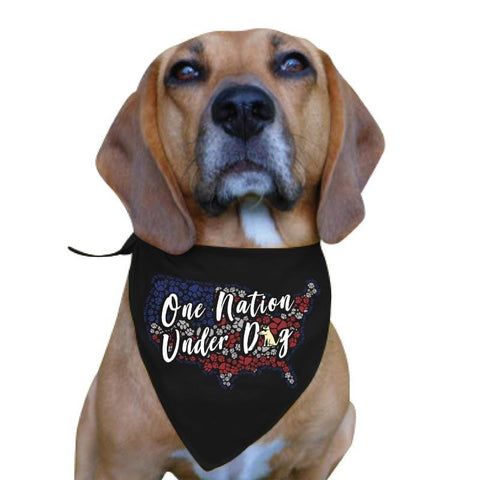 One Nation Under Dog - Doggie Bandana