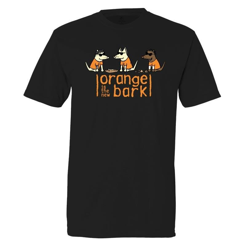Orange Is The New Bark - Classic Tee