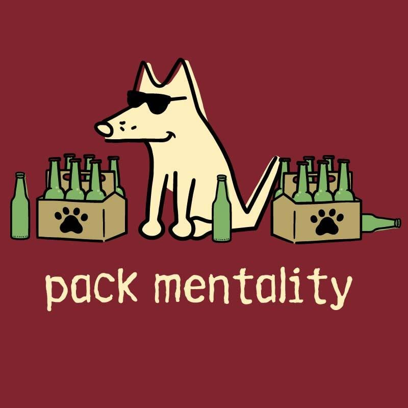 Pack Mentality - Ladies T-Shirt V-Neck