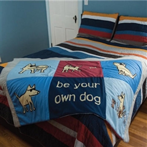 Limited Edition Patchwork Comforter - Teddy the Dog T-Shirts and Gifts