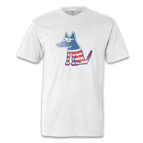 petriotic patriotic teddy garment dyed classic t-shirt