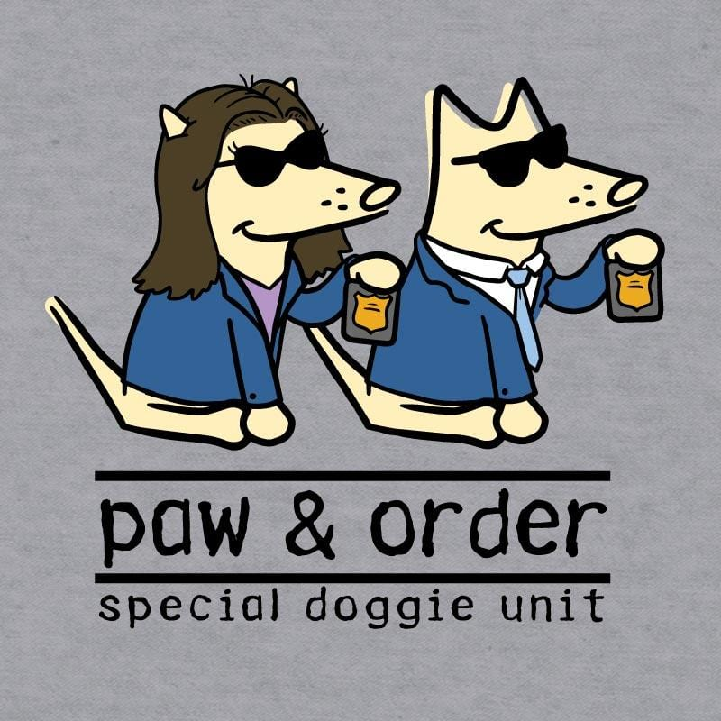 Paw And Order: Special Doggie Unit - Baseball T-Shirt