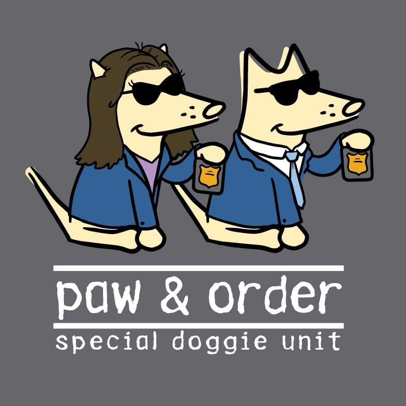 Paw And Order: Special Doggie Unit - Sweatshirt Pullover Hoodie