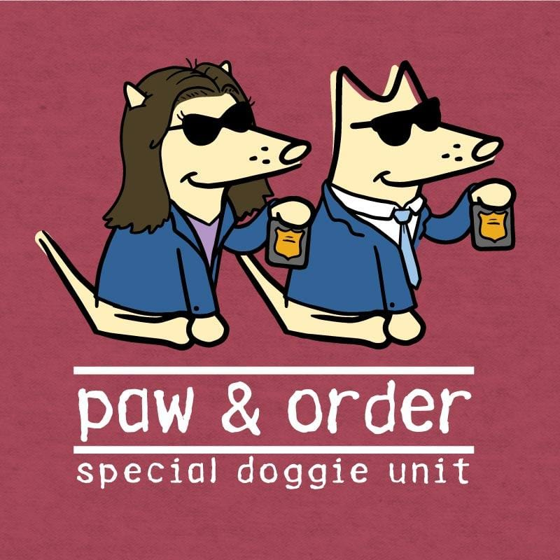 Paw And Order: Special Doggie Unit - Lightweight Tee