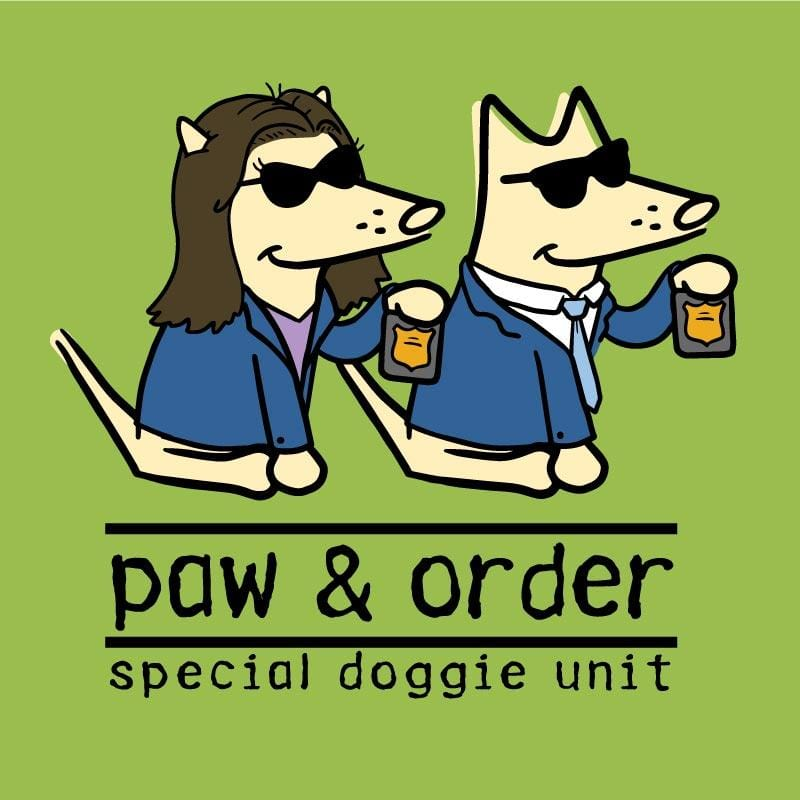 Paw And Order: Special Doggie Unit - Canvas Tote