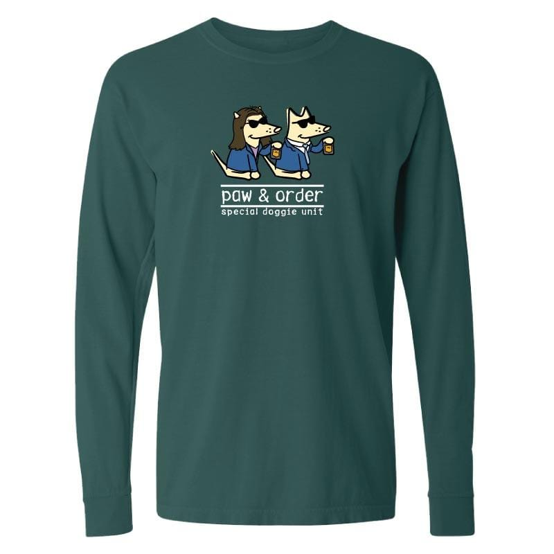 Paw And Order: Special Doggie Unit  - Classic Long-Sleeve T-Shirt