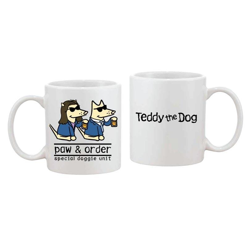 Paw And Order: Special Doggie Unit - Coffee Mug