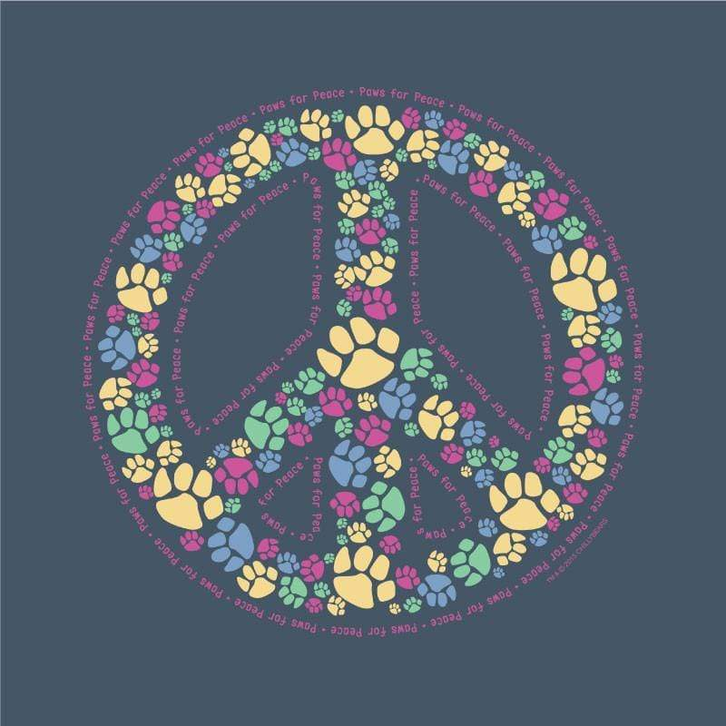 Paws For Peace - Classic Garment Dyed