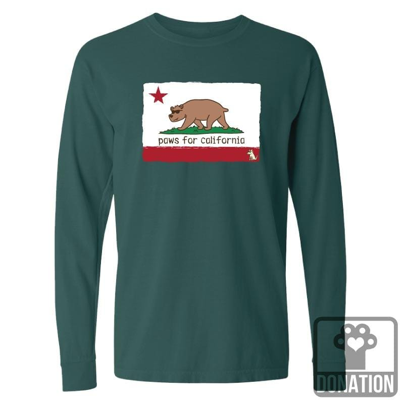 Paws For California  - Classic Long-Sleeve T-Shirt