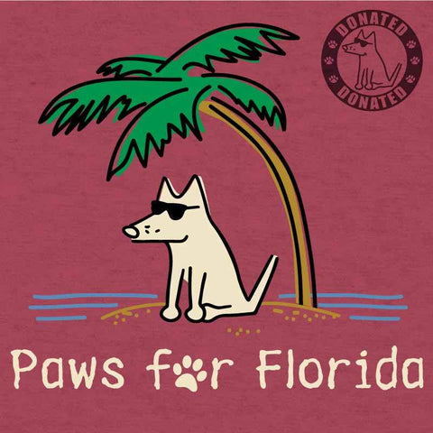 Paws For Florida - Lightweight Tee