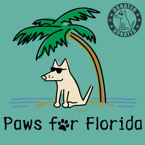 Paws For Florida - T-Shirt - Kids