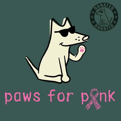 Paws For Pink - Classic Tee
